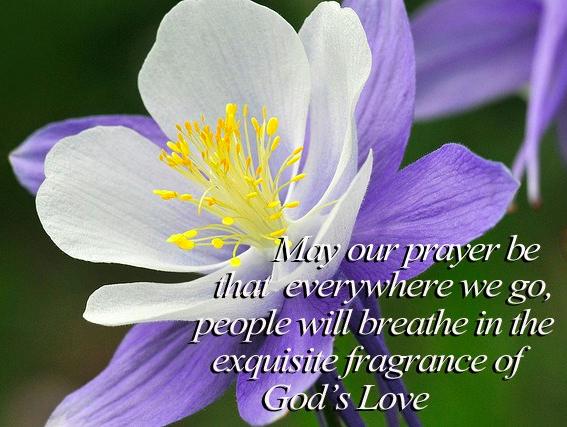 Breathe God's Frgrance